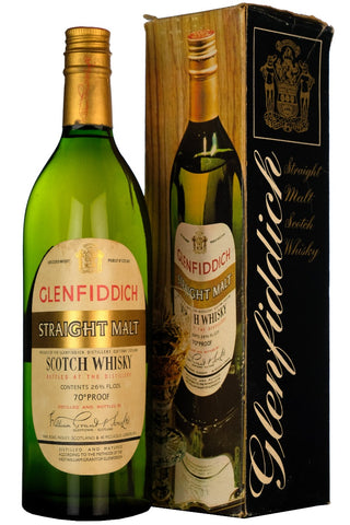 Glenfiddich Straight Malt 1960s