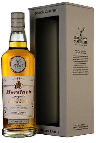 Mortlach 15 Year Old Distillery Labels