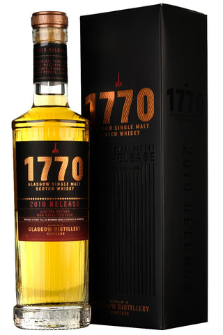 1770 Glasgow Single Malt 2019 Release
