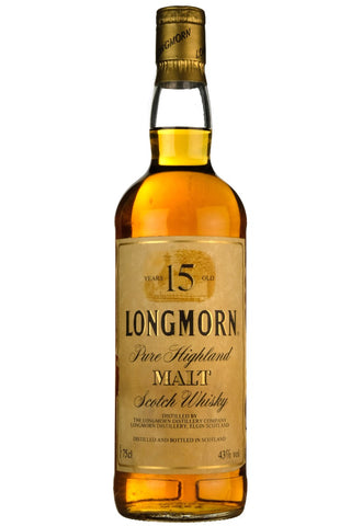 Longmorn 15 Year Old Early 1990s