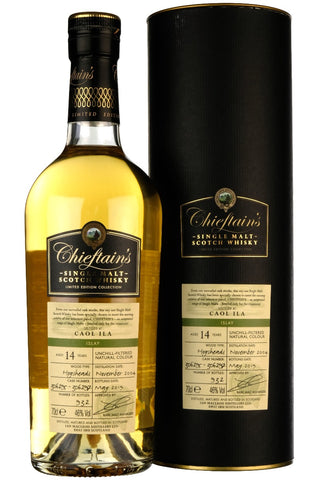 Caol Ila 2004-2019 | 14 Year Old Chieftains #306295 #306297