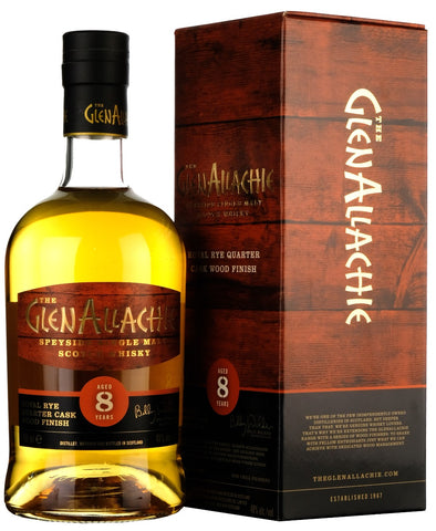 Glenallachie 8 Year Old Koval Rye Quarter Cask