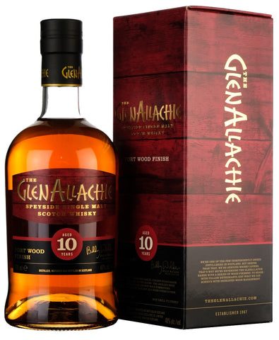 Glenallachie 10 year Old Port Wood Finish