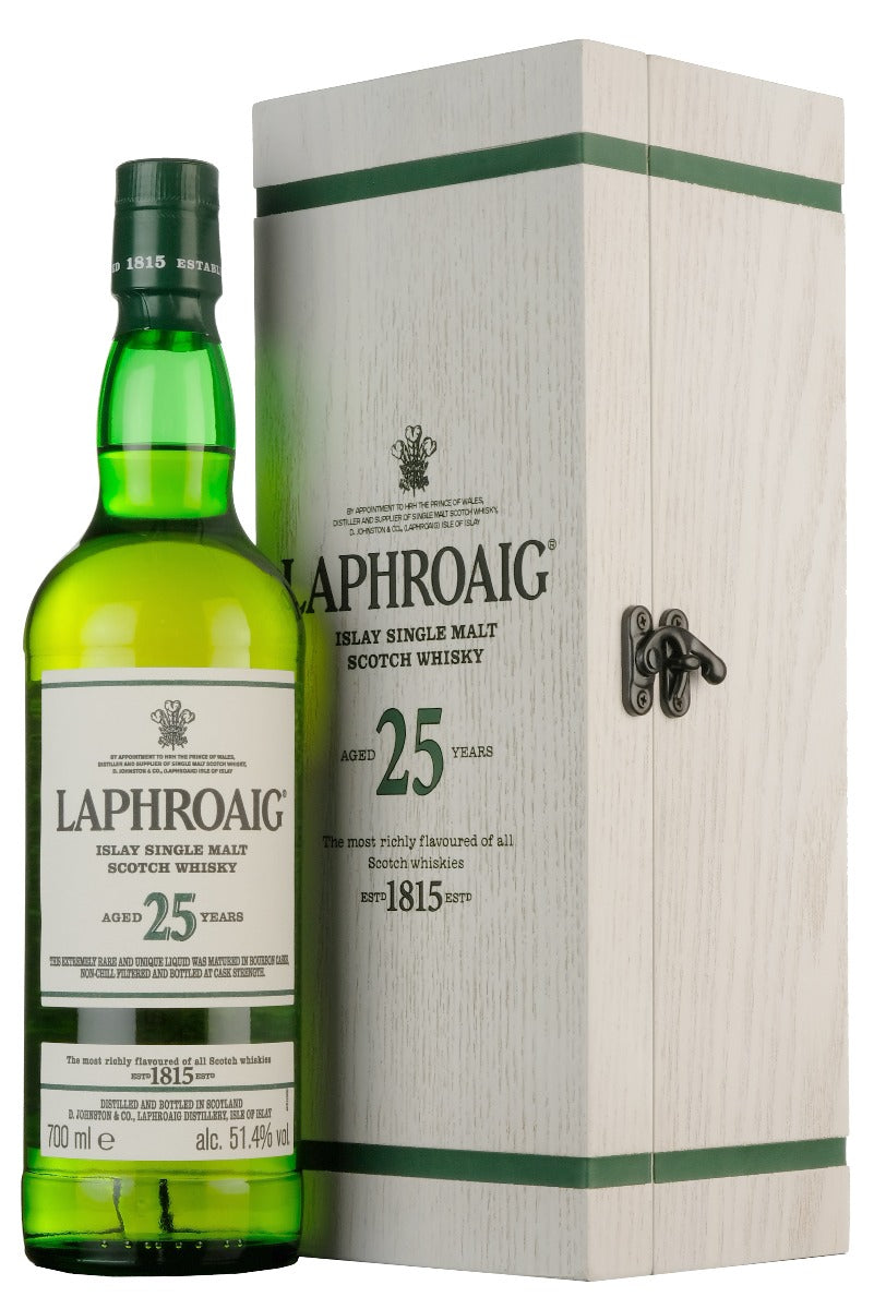Laphroaig 25 Year Old Cask Strength | 2019 Bottling