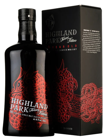 Highland Park 16 Year Old | Twisted Tattoo