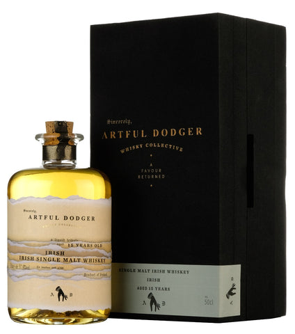 Irish Malt Whiskey 2002-2019 | 15 Year Old | Artful Dodger Whisky Collective
