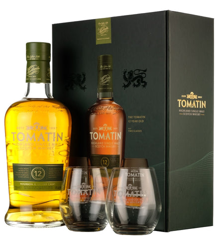 Tomatin 12 Year Old Glass Pack