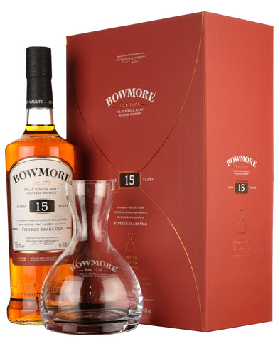 Bowmore 15 Year Old | Decanter Gift Pack