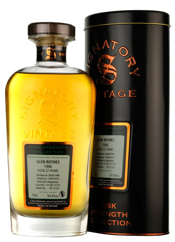 Glen Rothes 1996-2019 | 22 Year Old | Signatory Vintage