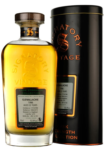 Glenallachie 1996-2019 | 22 Year Old | Signatory Vintage