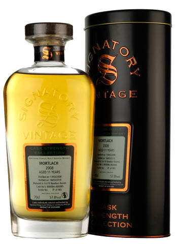 Mortlach 2008-2019 | 11 Year Old | Signatory Vintage