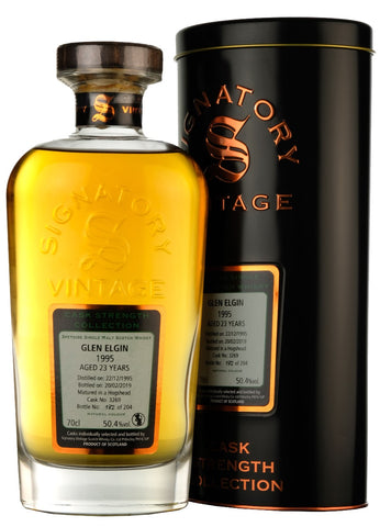 Glen Elgin 1995-2019 | 23 Year Old | Signatory Vintage