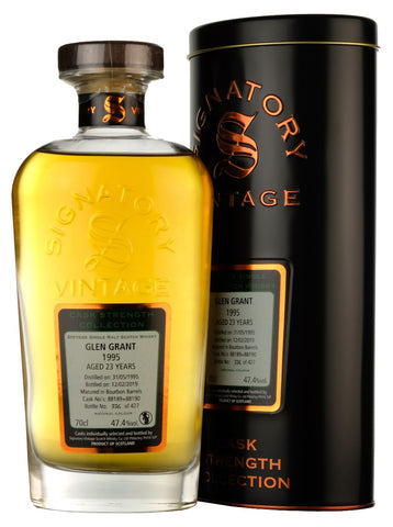 Glen Grant 1995-2019 | 23 Year Old | Signatory Vintage
