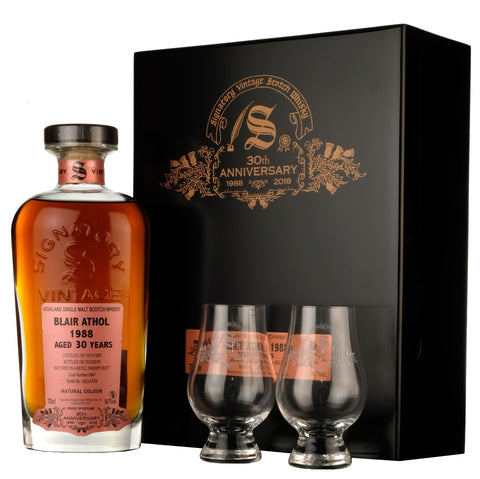Blair Athol 1988-2018 | 30 Year Old Signatory Vintage 30th Anniversary