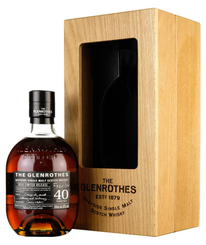 Glenrothes 40 Year Old | 2019 Release