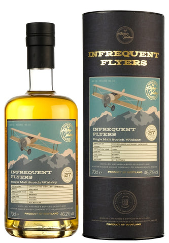 Undisclosed Speyside Distillery 1992-2019 | 27 Year Old | Infrequent Flyers