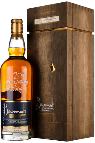 Benromach 1998-2018 20th Anniversary Bottling