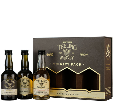 Teeling Trinity 5cl Gift Pack