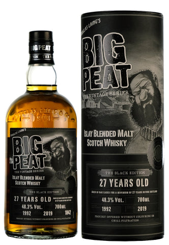 Big Peat 27 Year Old | The Black Edition