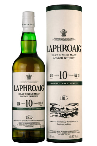Laphroaig 10 Year Old Original Cask Strength Batch 012