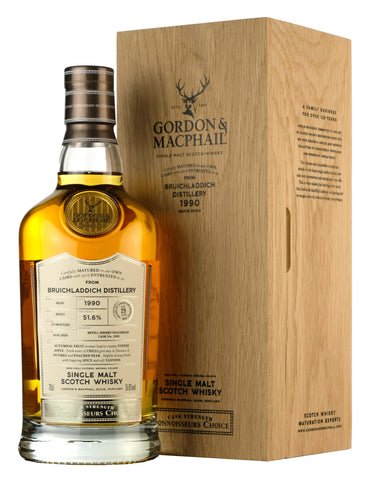 Bruichladdich 1990-2020 | 29 Year Old Connoisseurs Choice Cask Strength