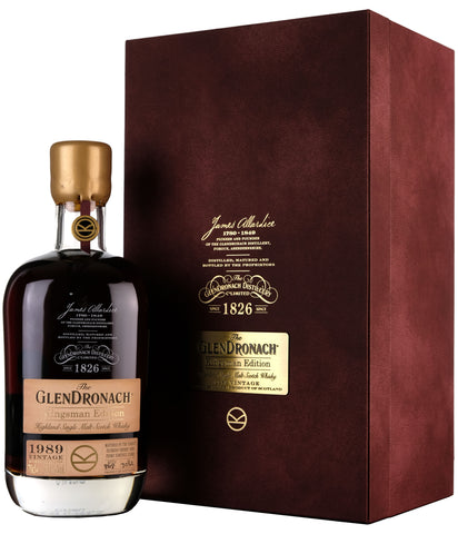 Glendronach 1989 | 27 Year Old Kingsman Edition 2020