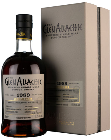 Glenallachie 1989-2020 | 31 Year Old Single Cask 6118