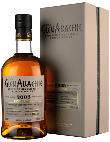 Glenallachie 2005-2020 | 15 Year Old Single Cask 5182