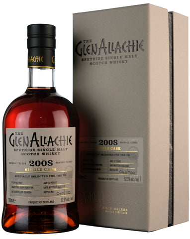 Glenallachie 2008-2020 | 12 Year Old Single Cask 1867