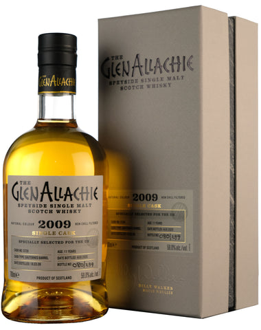 Glenallachie 2009-2020 | 11 Year Old Single Cask 3728