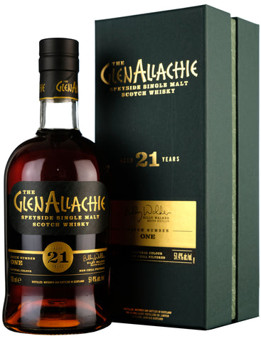 Glenallachie 21 Year Old Batch 1