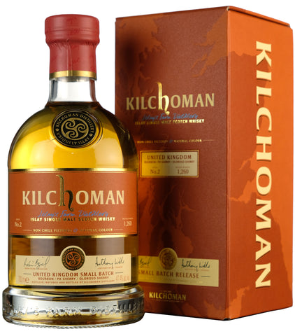 Kilchoman Small Batch 2 Released 2020