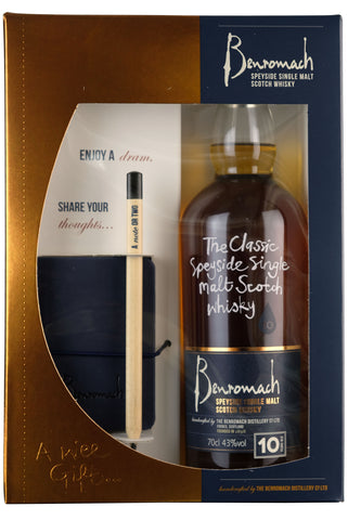 Benromach 10 Year Old Notebook Gift Set