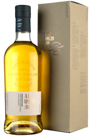Ardnamurchan AD/09.20:01 Inaugural Single Malt