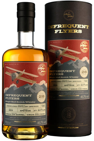 Undisclosed Speyside Distillery 1992-2020 | 28 Year Old Infrequent Flyers