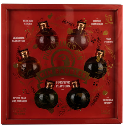Pickerings Festively Flavoured Gin Baubles