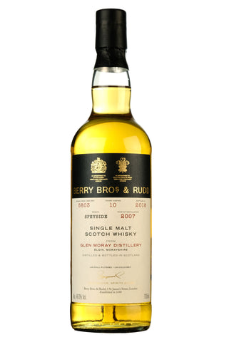 Glen Moray 2007-2018 | 10 Year Old Berry Bros Cask 5803