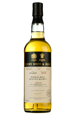 Ledaig 2009-2019 | 10 Year Old Berry Bros Cask 700331