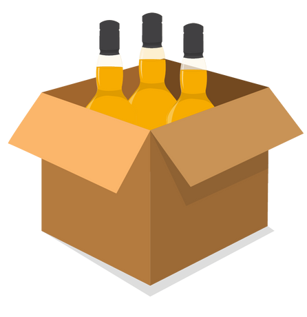Whisky Auction Delivery
