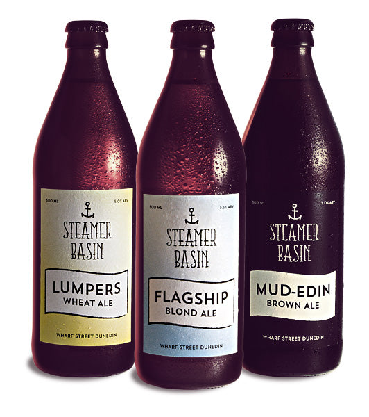 Steamer Basin range of beers image