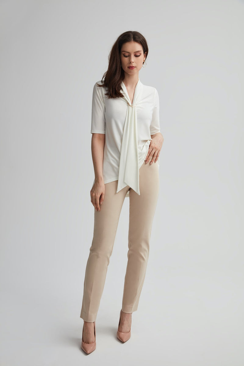 Perfect Fit Cotton Slim Leg Pant