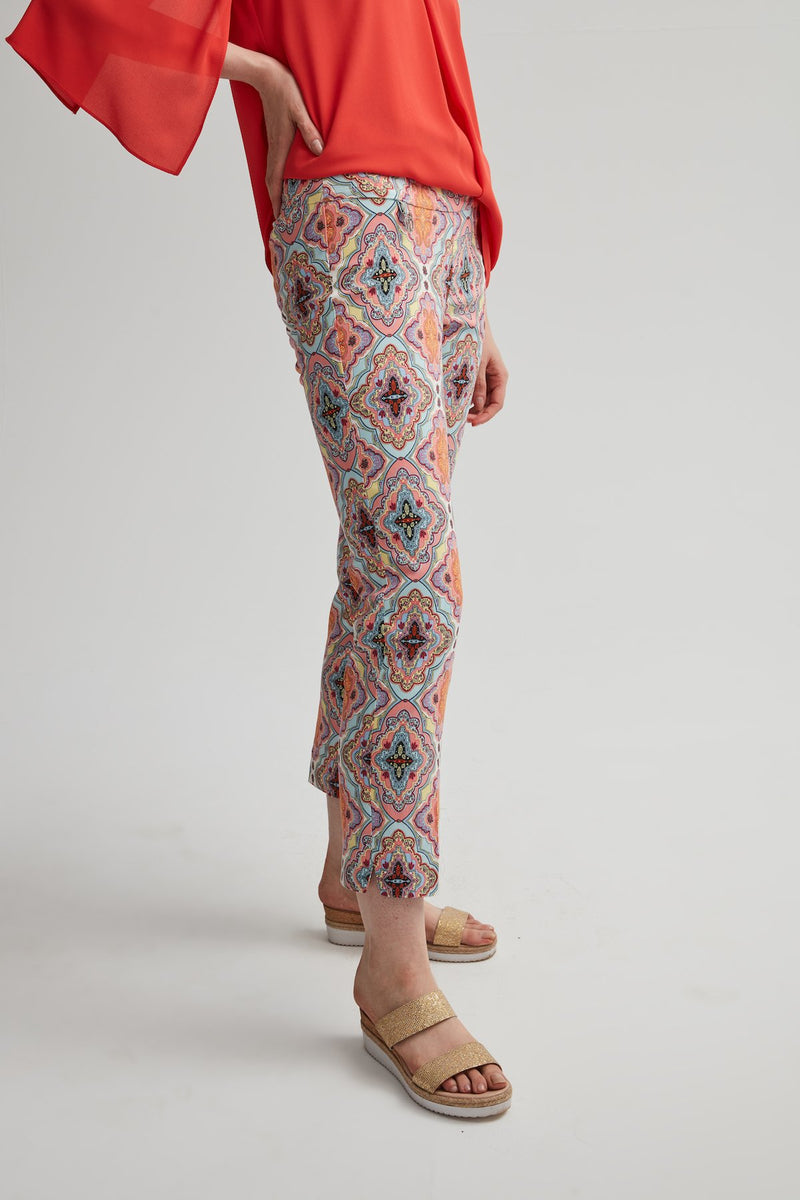 Perfect Fit Colourful Motif Pant