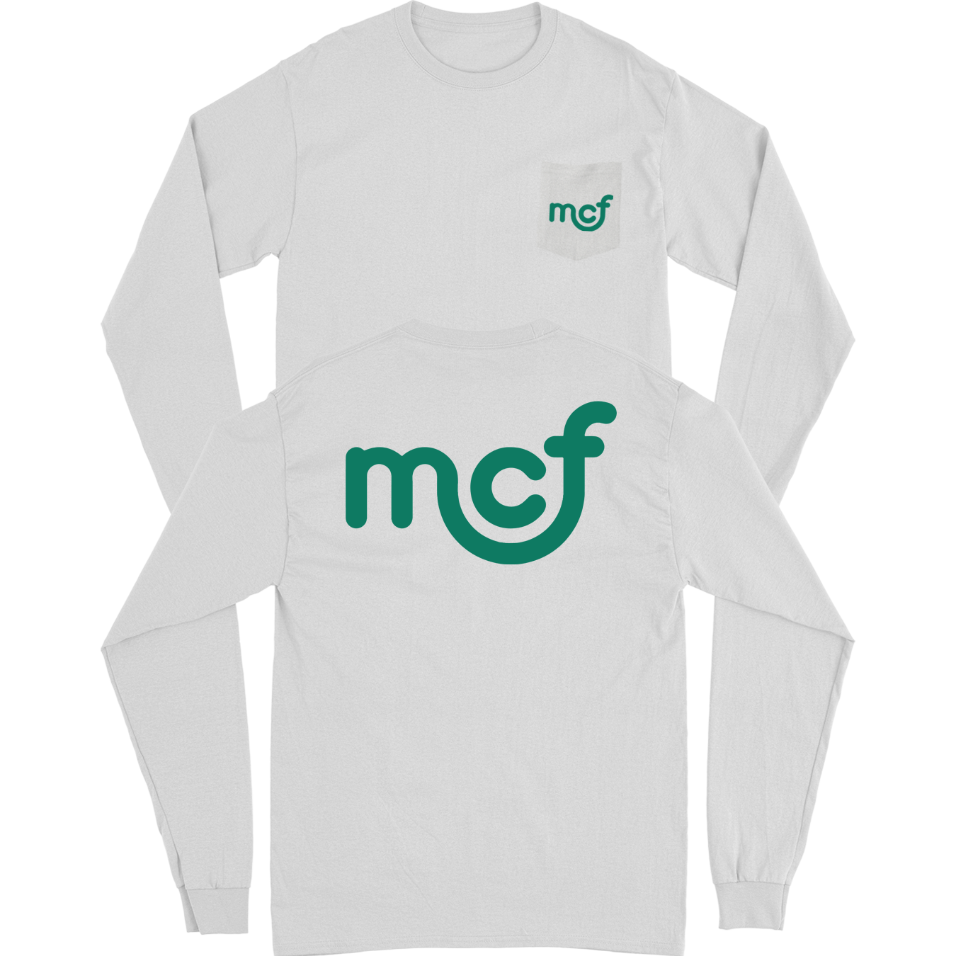 MCF Long Sleeve Pocket Tee - Grey