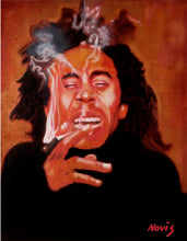 Load image into Gallery viewer, Bob Marley art print
