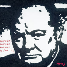 Load image into Gallery viewer, Churchill art print
