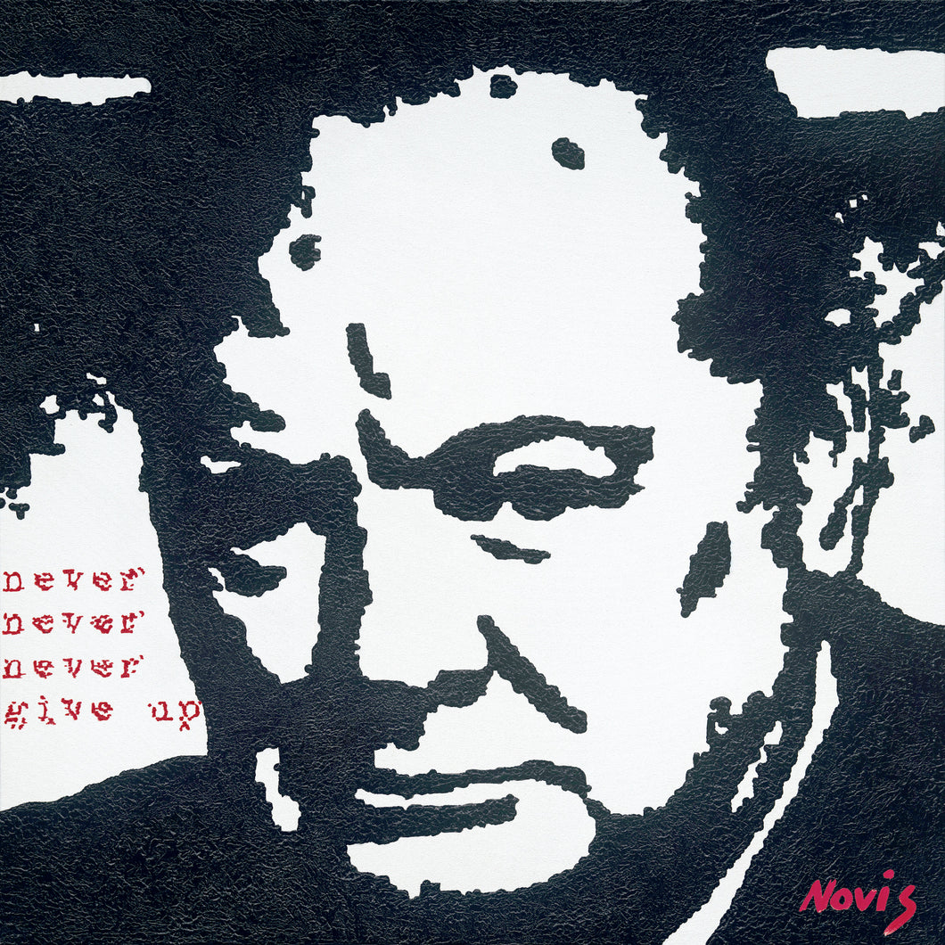 Churchill art print