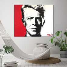 Load image into Gallery viewer, David Bowie art print by Barry Novis