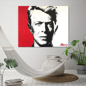 David Bowie art print by Barry Novis