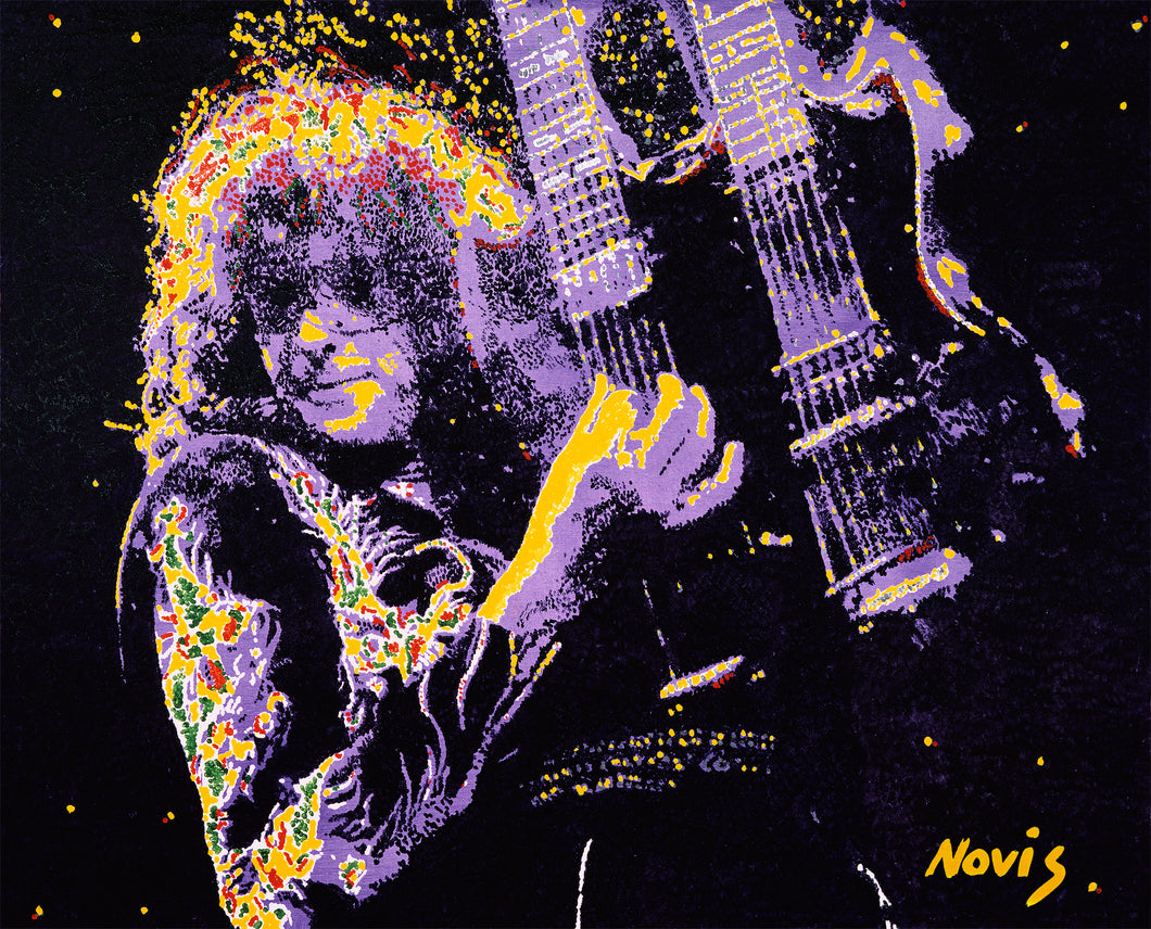 Jimmy Page Led Zeppelin art print