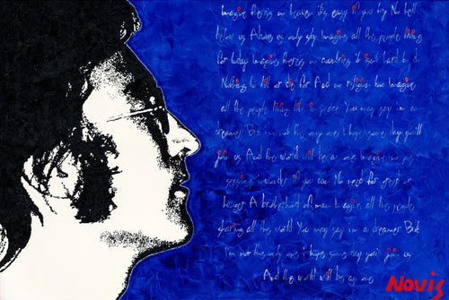 John Lennon Imagine art print